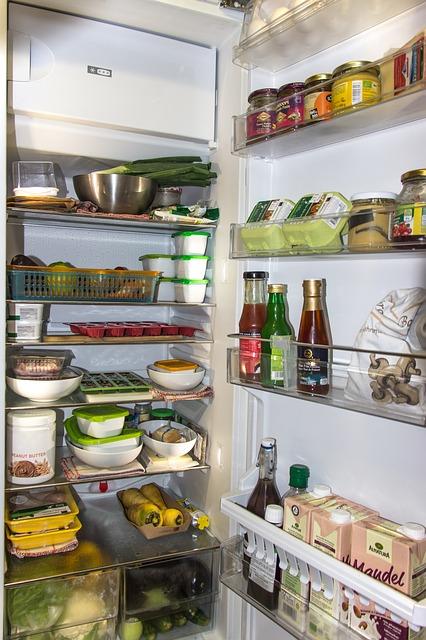 Dózy a správné uskladnění potravin