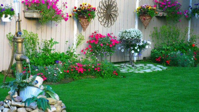 Originální Jednoduché Zahradní Dekorace Které Hravě